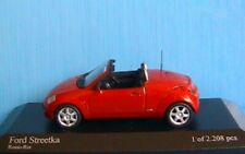 FORD STREETKA 2003 ROUGE MINICHAMPS 400086430 1/43 RED ROSSO ROT STREET KA