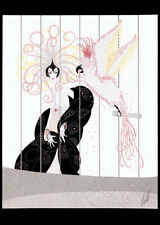 The Bird Cage 22x30 Art Deco Print by Erte