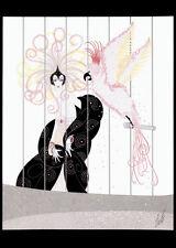 The Bird Cage 22x30 Art Deco Print by Erte