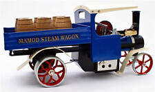 Mamod SW1 Blue Working Live Steam Wagon with Barrels, Ready To Run - Popular Cho