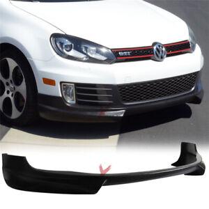 Fits 10-14 Volkswagen VW Golf GTI RG Style Front Bumper Lip - PU
