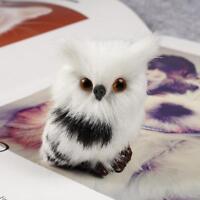 1Pcs Harry Potter Realistic Hedwig Owl Toy Mini Simulation Model Christmas Gift