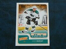 2011-12 11/12 UD Victory Stars of the Game SOG-DH Dany Heatley San Jose Sharks