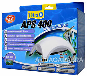 TETRA APS WHITE EDITION  - SILENT AQUARIUM AIR PUMP APS 400