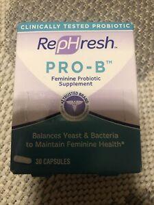 RepHresh Pro-B Probiotic Feminine Supplement Feminine Health - 30 Capsules 10/21