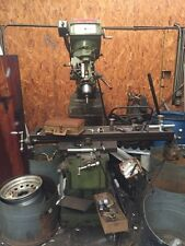 """USED CONVENTIONAL KNEE MILL MILLMAN 50 x 10"""" Table X-Axis Power Feed Bridgeport"""