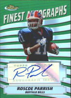 2005 Finest Football Insert/Parallel/Autograph Singles (Pick Your Cards)