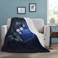Custom Throw Blanket Doctor Who Ultra-Soft Micro Fleece Blanket