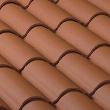 S type Clay Roof Tile Roofing Spanish Mediterrane 00006000 an Rustic Look Terracotta Red
