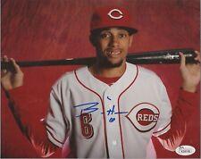 Billy Hamilton Signed Autographed 8x10 Cincinnati Reds Photo