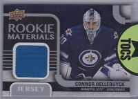 Connor Hellebuyck 2015-16 UD Series Two Rookie Materials Jersey Winnipeg Jets