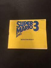 Super Mario Bros 3 Bros On Left Manual