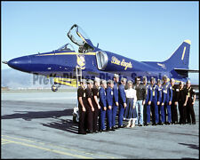 USN Blue Angels A-4 Skyhawk Flight Line Salinas 1982 8x10 Aircraft Photos