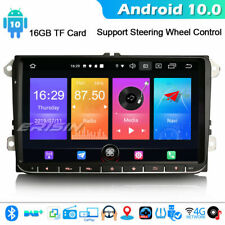 "9"" Android 10.0 GPS DAB+4G Autoradio For VW Passat Jetta Seat Golf Touran CanBus"
