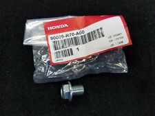 NEW GENUINE HONDA ACURA ENGINE OIL PAN DRAIN PLUG WITH WASHER 90009-R70-A00