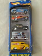 2000 Hot Wheels Truck Stoppers Gift Pack New in Box 5 Vehicles