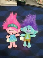 Trolls DreamWorks Princess Poppy And Branch Plush
