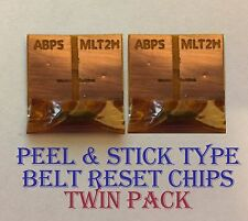 2x Peel& Stick Belt Reset Chips for Minolta Bizhub C200 C200e C200 Lite NEC 2020