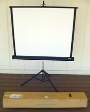 "Da-Lite 89060 Versatol Tripod Projection Screen 40� X 40"" Excellent!"