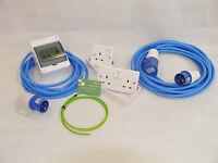 240V Mains Electric Hook Up Installation Kit T2/T4/T5 Camper van + 10M Site Lead