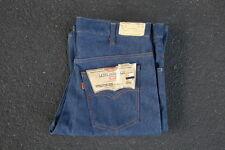 Vintage Deadstock Levis 646 Denim Bell Bottom Jeans 36 Orange Tab Rockabilly