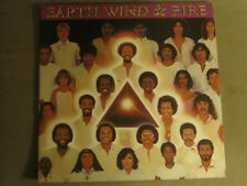 EARTH, WIND & FIRE FACES 2LP ORIG '80 ARC COLUMBIA FUNK SOUL DISCO W/ POSTER VG+