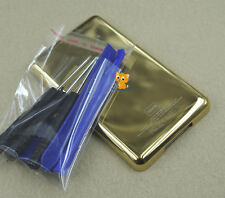Gold Metal Back Housing Case Cover Tools for iPod 7th gen Classic Thin 160GB