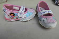 Dora the Explorer light up shoes, strap,patchwork,size 5,girls,pink,Nickelodeon
