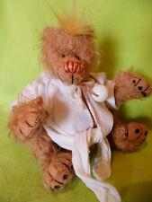 Künstlerteddy Teddybär Bär Bear MORITZ Clemens Margarethe Nedballa