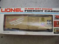 Lionel O Scale 9418 FARR ATSF Santa Fe Commemorative Box Car NIB