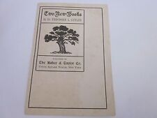1900's Dr. Theodore L. Cuyler books available The Baker & Taylor Co.