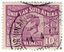 (I.B) South Africa Revenue : Duty Stamp 10/- (Afrikaans)