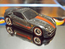 Hot Wheels Custom Made 2015 Super Treasure Hunt. FERRARI 599XX with Real Riders