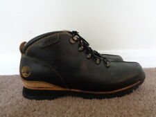 TIMBERLAND SPLITROCK HIKER BROWN LEATHER BOOTS SIZE 9