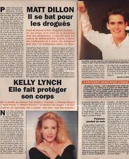 Coupure de presse Clipping 1994 Mat Dillon Kelly Lynch  (1 page 1/3)