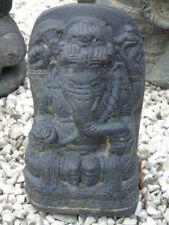 ganesh éléphant statue en pierre patinée, nouveau ...