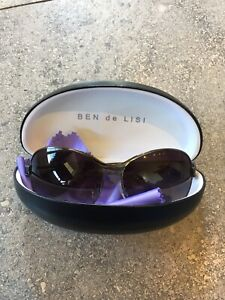 branded ladies sunglasses By Ben De Lisi Very Good Condition