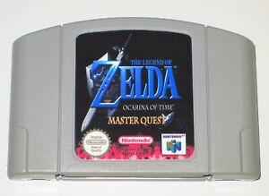 PAL Version The Legend of Zelda Ocarina of Time Master Quest For Nintendo 64 N64