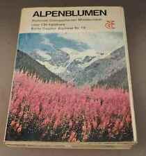 Alpenblumen - Blühende Gebirgspflanzen Mitteleuropas - F. Bianchini 1972   /S158