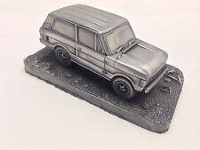 RANGE Rover 2 PORTE 1.43 scala PELTRO effetto modello auto realizzata a mano in Sheffield