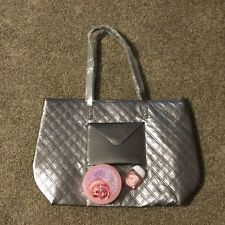 Bath and Body Works Tote with Warm Vanilla Sugar Body Butter & Pocket Bac New!