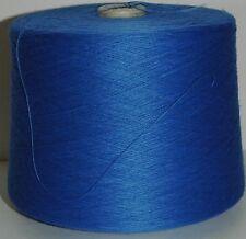 Máquina Para Hacer Punto Hilo TOP QUALITY 3/30s 1.5 kilos Acrílico Saxe Azul