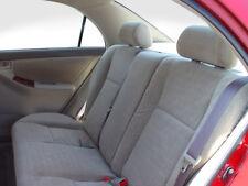 2003-2004 Toyota Corolla Back Seat Cover for 40/60 Split Rear Seat - DARK GRAY