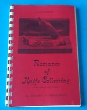 ROMANCE OF KNIFE COLLECTING REVISED EDITION BY DEWEY P. FERGUSON