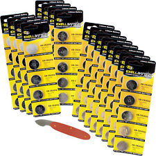 80pc Assorted Coin Cell Battery Kit For Car Alarms Key FOBs, Remote Starters