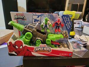 Playskool Heroes Marvel Super Hero Adventures Spider-Man & Gator-Bot robot gator