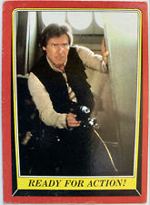 Star Wars ' Return Of The Jedi ' 1983 Topps Trading Card ' Ready For Action  100
