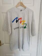 Vintage Sydney Olympics 2000 Tee Shirt White Size XXLarge New Tagged