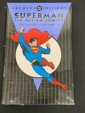 DC ARCHIVES EDITION, SUPERMAN Action Comics, VOL 4, HARD COVER, SEALED (CC2)
