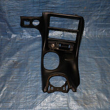 96-04 Chevrolet Corvette C5 Black CENTER CONSOLE DASH Radio / Climate Trim Bezel